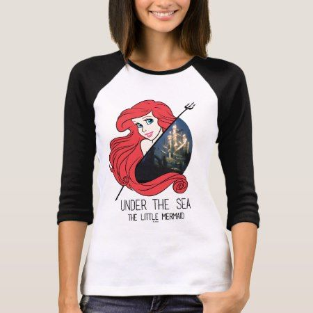 Ariel Atlantis Graphic - Under The Sea T-Shirt - click to get yours right now!
