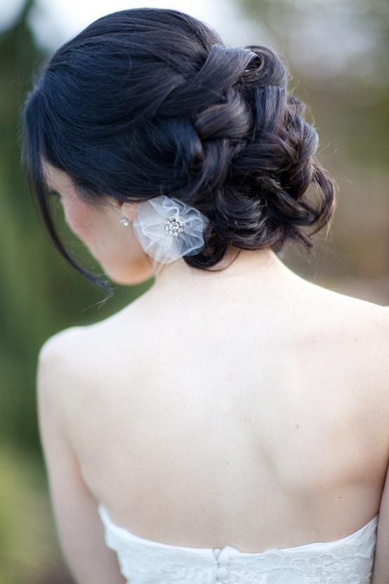 wedding updo- gotta have the hair up :)