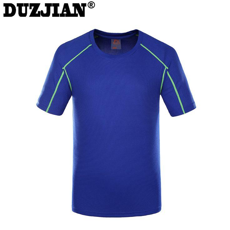 DUZJIAN Solid color fast dry polyester fiber men 's t shirt pokemon clothing metallica t shirt t-shirt for boys cat pocket shirt