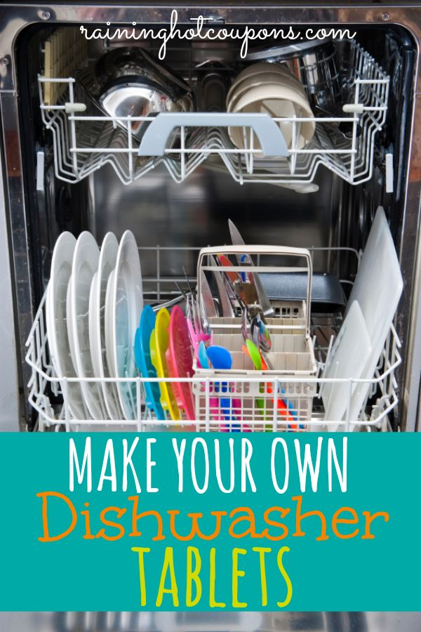 how to use dishwasher tablets