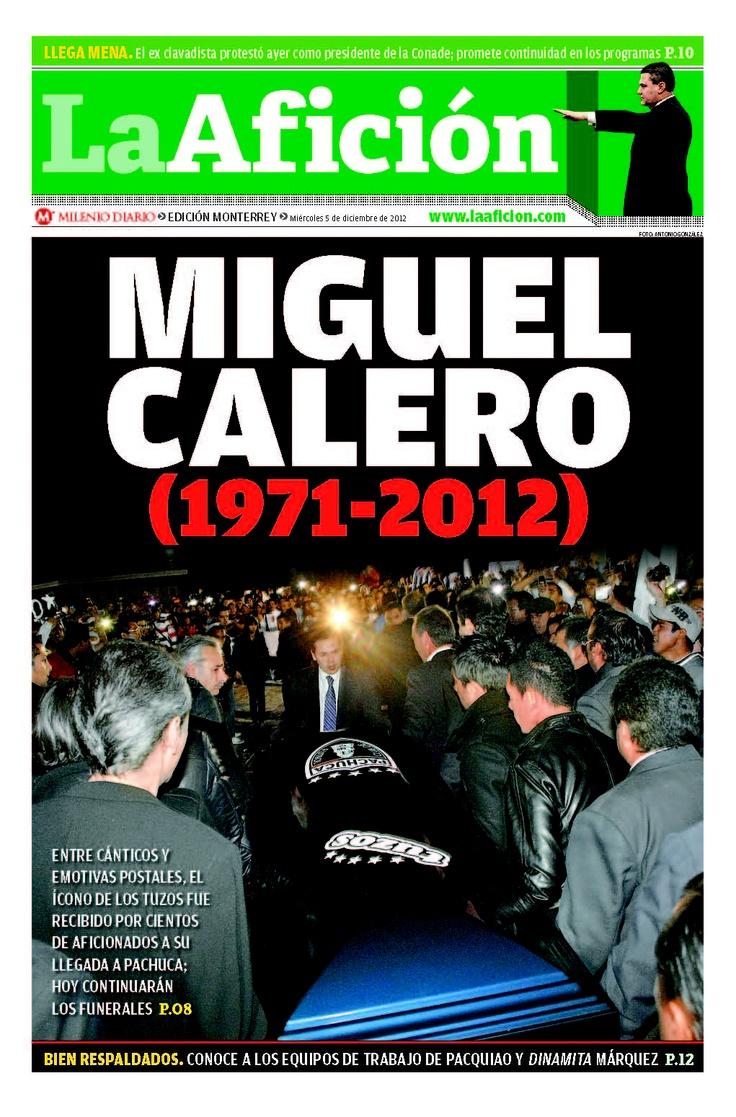 Entre cánticos y emotivas postales, el ícono de los Tuzos fue recibido por cientos de aficionados a su llegada a Pachuca; hoy continuarán los funerales.