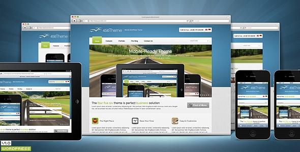 456Theme Premium Responsive Wordpress Theme