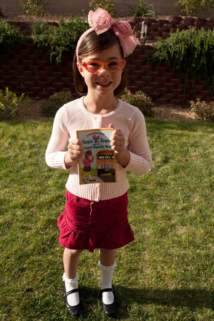 Dress up like our favorite book character social?! Junie B. Jones is on my list!