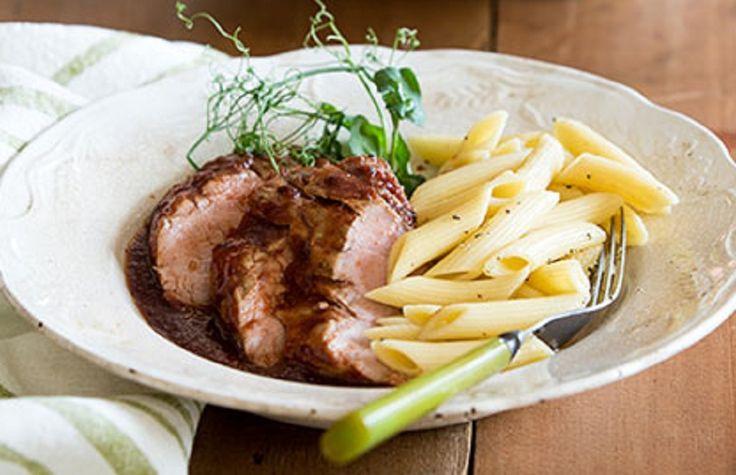 Filet de Porc aux Pommes à la Mijoteuse - Recette de maman