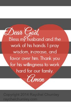 prayer for my husbands job small