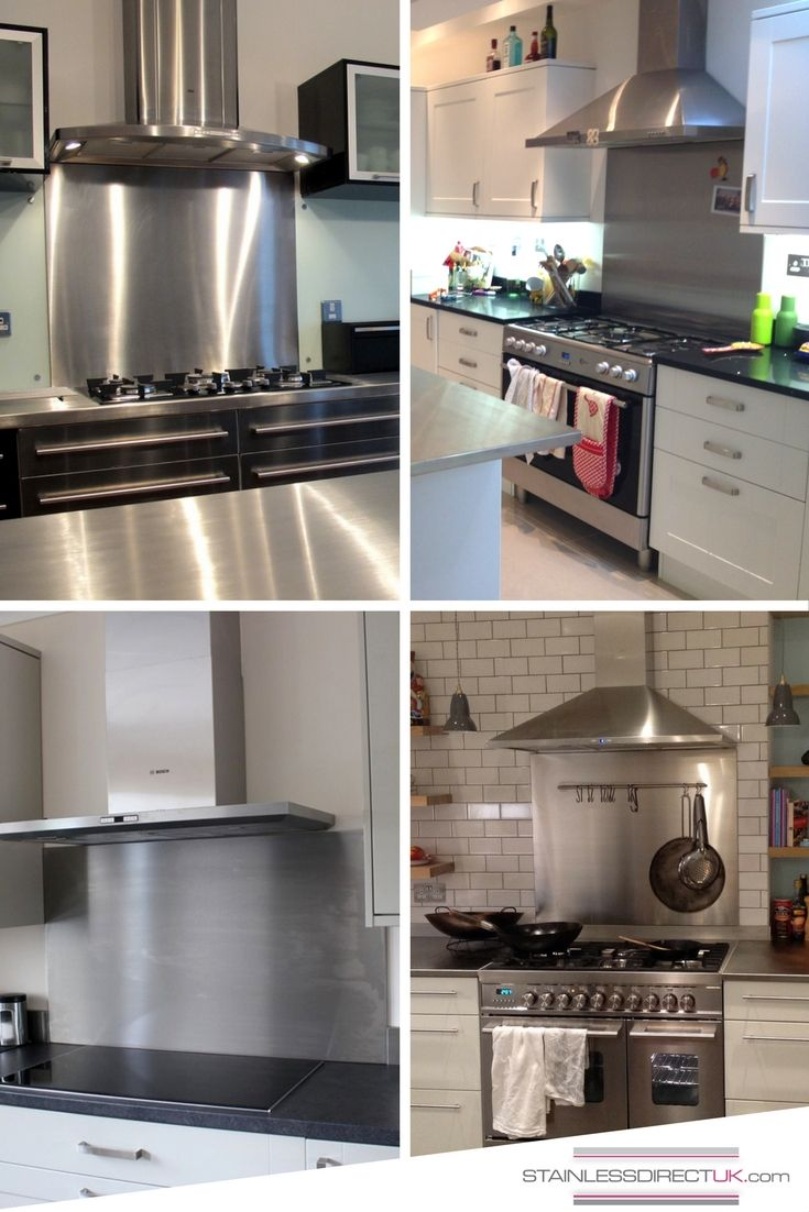 Stainless Steel Splashback A Kitchen Feature That Doesn T Always Get The Attention It