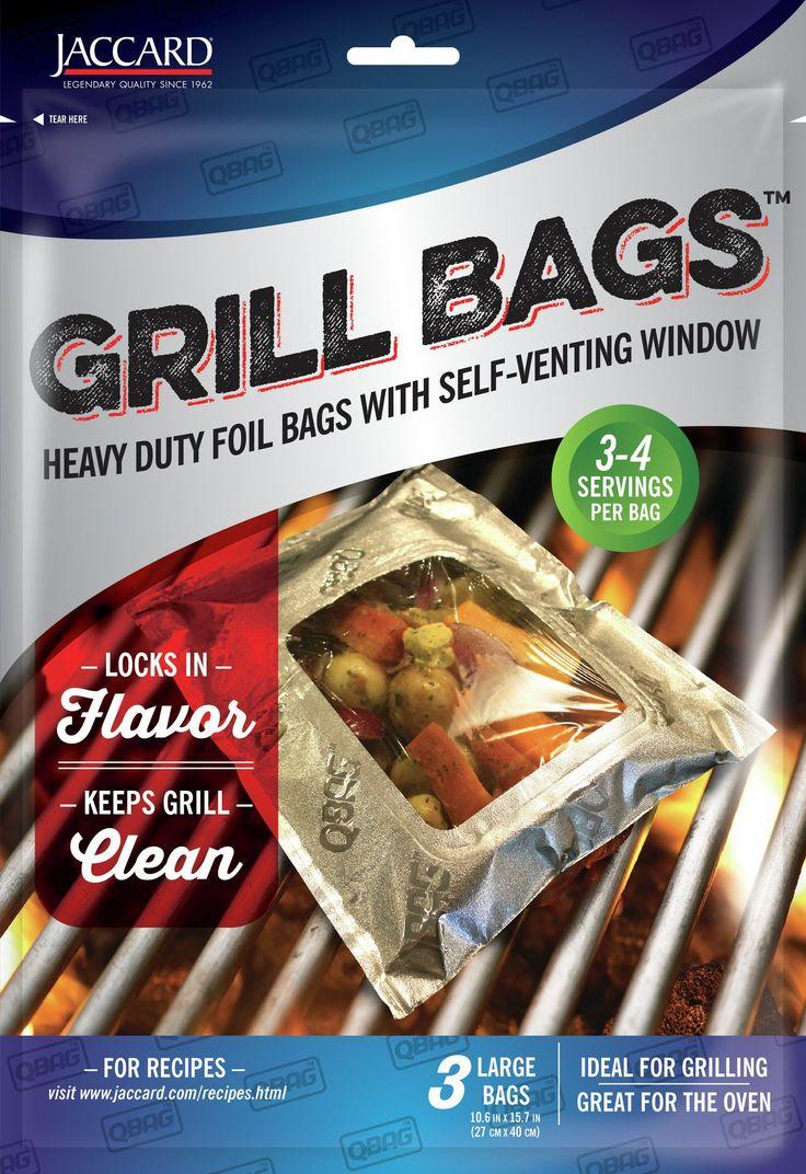 Aluminum Foil Grill/Oven QBag