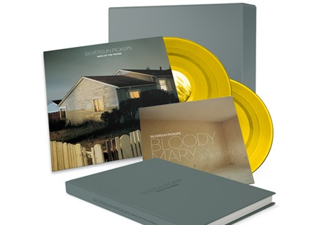 """A well-executed album pre-order package for """"Neck of the Woods"""" by Silversun Pickups, out May 8th. $80 nets you yellow vinyl, photo book, the CD, and other goodies. That's a better value proposition than most video game collector's editions."""
