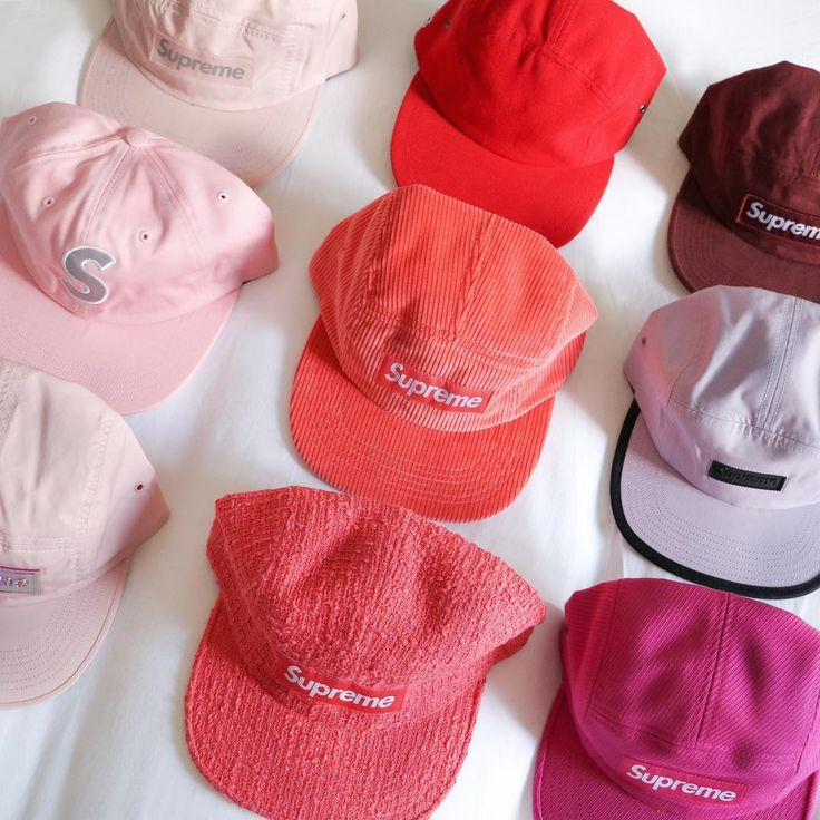 Supreme cap collection