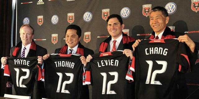 Orang Indonesia Pertama yang Menjadi Pemilik Klub Sepak Bola MLS, DC United - Suporterbola.Us