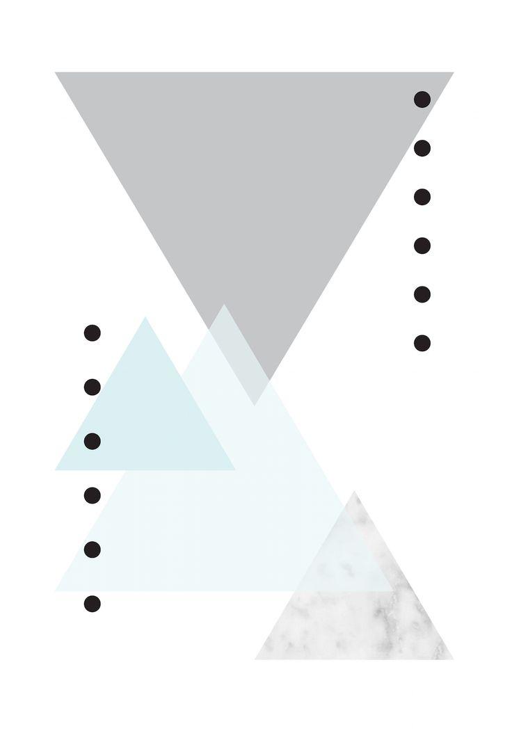 #contagiousdesignz #marble #texture #black #white #prints #design #triangle #grey#blue #polkadots
