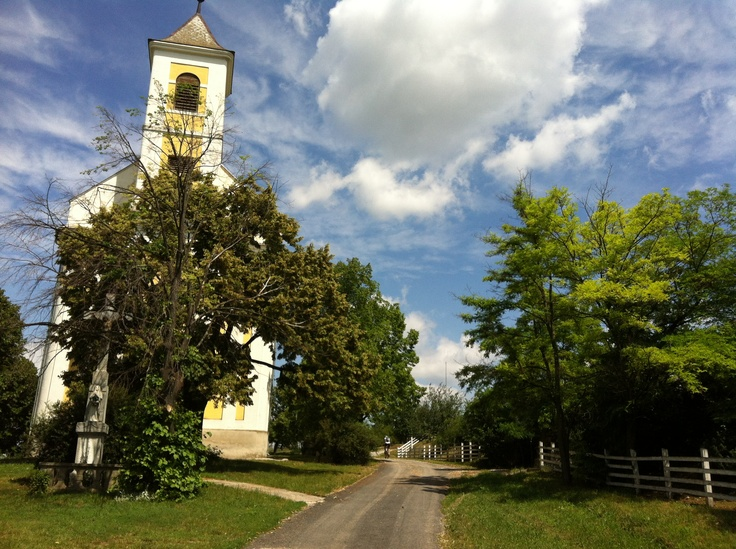 Small  village church, Balatonfured, Hungary
