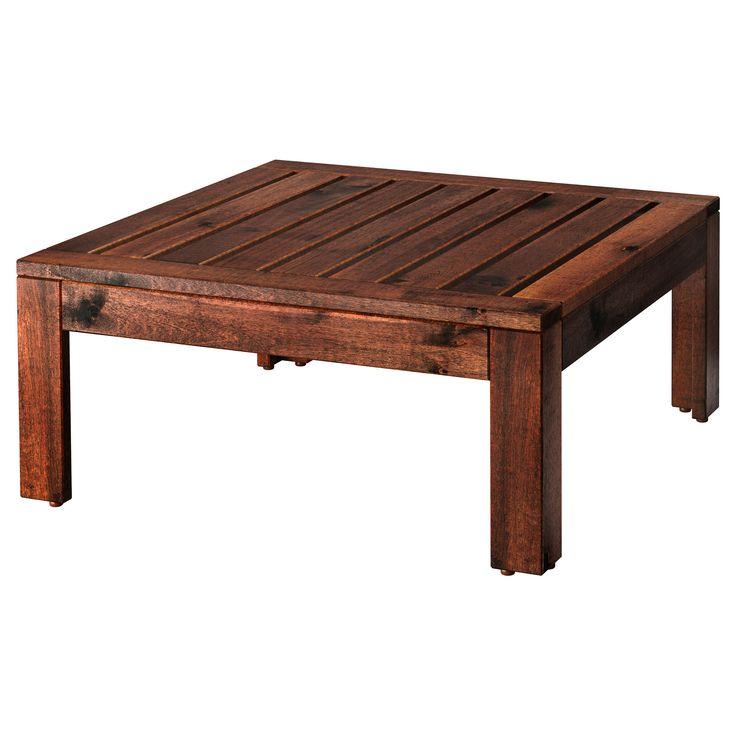 IKEA   ÄPPLARÖ, Tafel/kruk Element, Buiten, Kan Gebruikt Worden Als Tafel