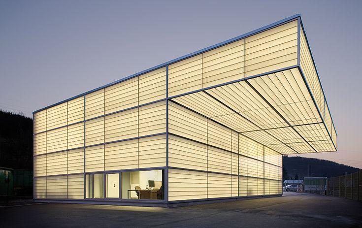 shawn architekten - frankfurt. galpão industrial em Siegen - alemanha