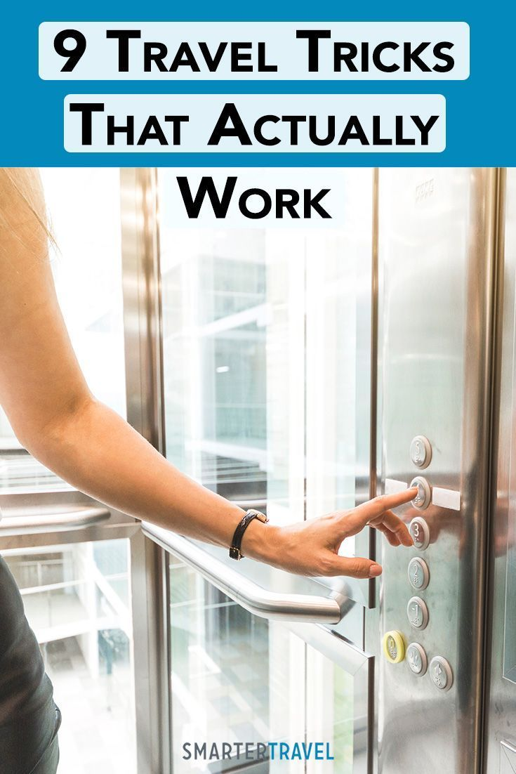 At Smartertravel We Re Big Fans Of Lifehacks Or Macgyver Like Workarounds For Common Problems From Making The Elevator Travel Tips Travel Travel Locations