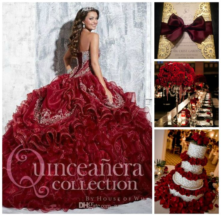 Can't decide the color of your quince theme? Choose red!
