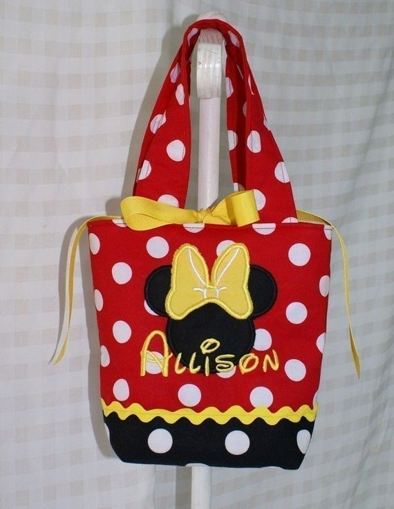 Minnie+Mouse+Purse+by+GiftSewFine+on+Etsy,+$15.00