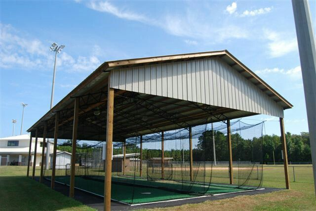 Batting Cages Polebarn Diy Barns Pinterest Girls Softball - Backyard batting cages for sale