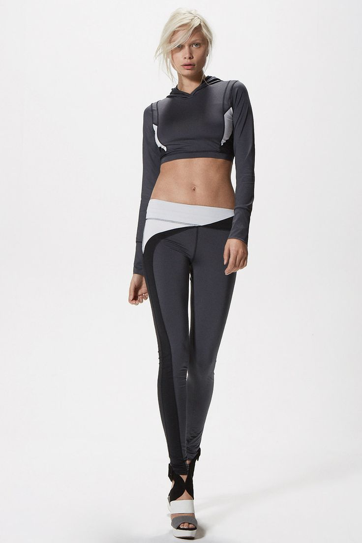 Solow Fall 2015 Lookbook Modern Futuristic Activewear Always Clean Athletic Apparel With Hex