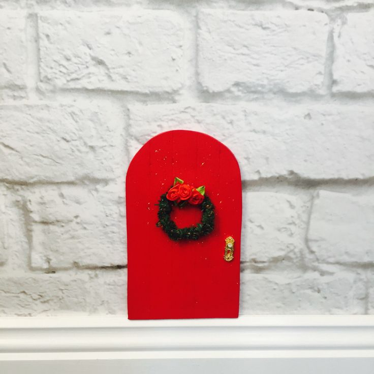 A personal favourite from my Etsy shop https://www.etsy.com/au/listing/471909478/fairy-door-christmas-fairy-door-garden