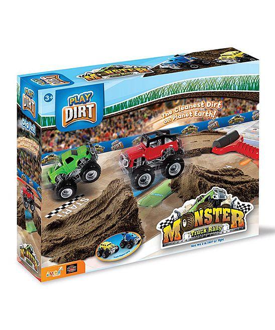 Monster Truck Rally Play Dirt Set