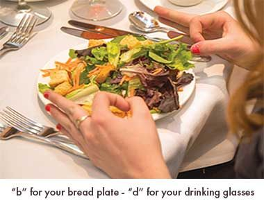 Great Table Manners Tips To Remember Which Fork Use First And Drinking Glass Dining EtiquetteTable