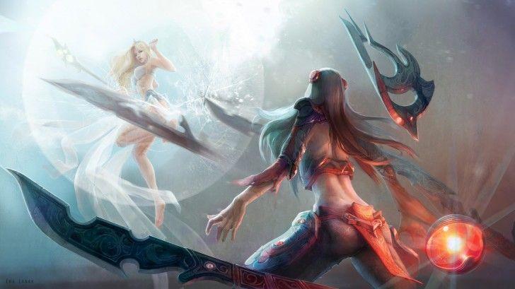 Irelia vs Janna League of Legends 3s