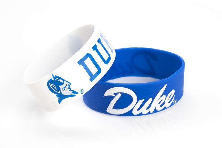 Duke Blue Devils Bracelets - 2 Pack Wide