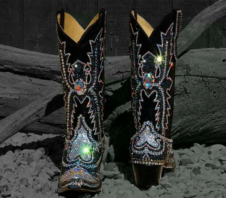 Paradise Jaqui Bling swarovski cowgirl boots