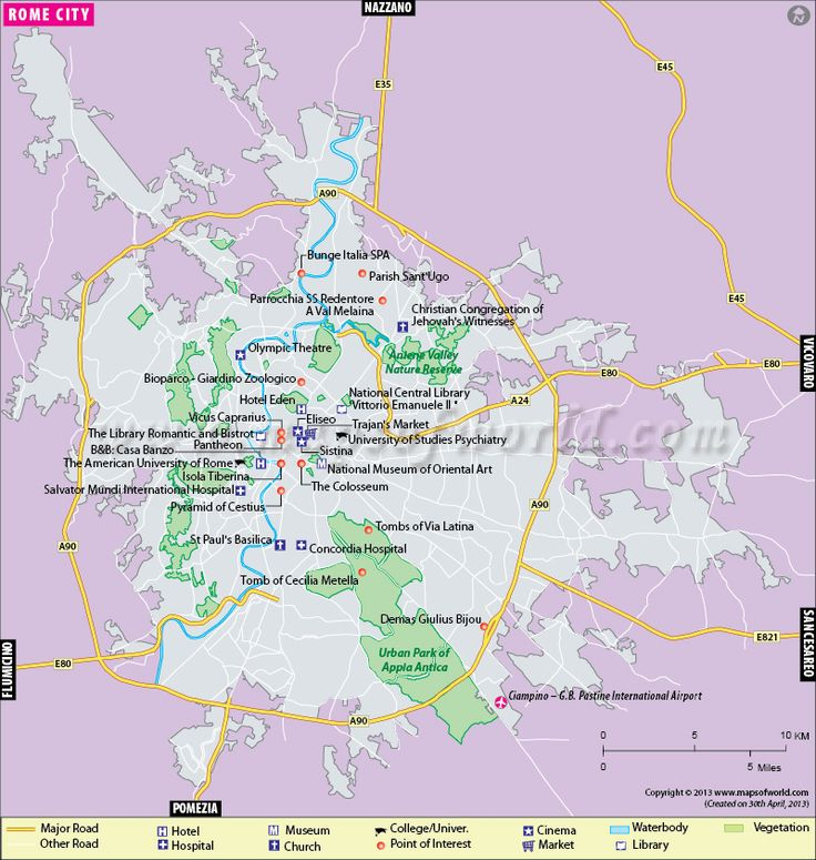 Best Rome Map Ideas On Pinterest Rome Sights Rome Holidays - Rome map world