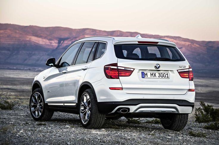 BMW voorziet X3 van Life Cycle Impulse en gloednieuwe diesel