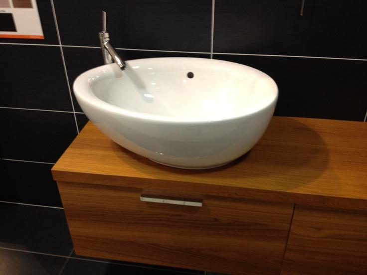 Bathroom bowl sink bathroom make over Pinterest