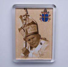 Pape JEAN PAUL II Magnet du Saint-Père Jean Paul 2