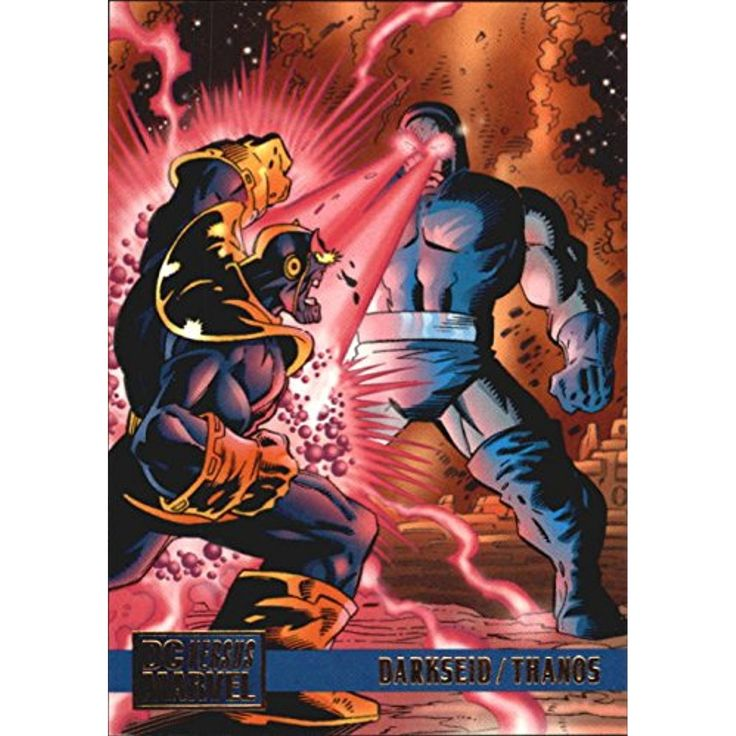 1995 DC Versus Marvel Darkseid, Marvel, Marvel vs dc
