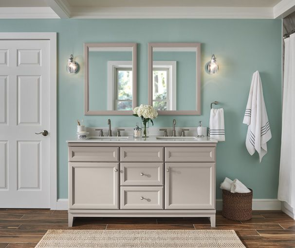 Gray Bathroom Cabinetry Ideas And Inspiration At Value Prices Be Inspired By These Bathroom Ca Small Bathroom Remodel Bathrooms Remodel Small Bathroom