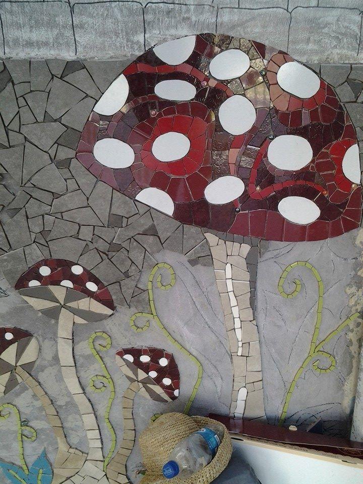 plus de 1000 id es propos de fresques murales et d cor. Black Bedroom Furniture Sets. Home Design Ideas