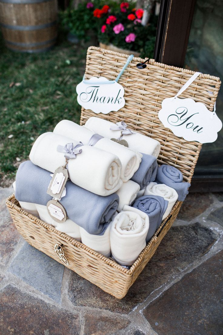 Wedding Favor Blanket