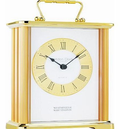 LONDON CLOCK Gold Finish Metal cased carriage clock 02062 A traditional Carriage clock - makes an ideal gift. http://www.comparestoreprices.co.uk/mantel-and-carriage-clocks/london-clock-gold-finish-metal-cased-carriage-clock-02062.asp