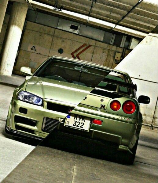 R34 Skyline. Nissan Gtr ...