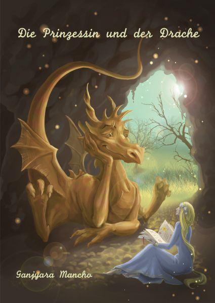 """""""Die Prinzessin und der Drache"""" - Kindergeschichte von Ganjyara Mancho http://www.xinxii.com/die-prinzessin-und-der-drache-p-349629.html"""