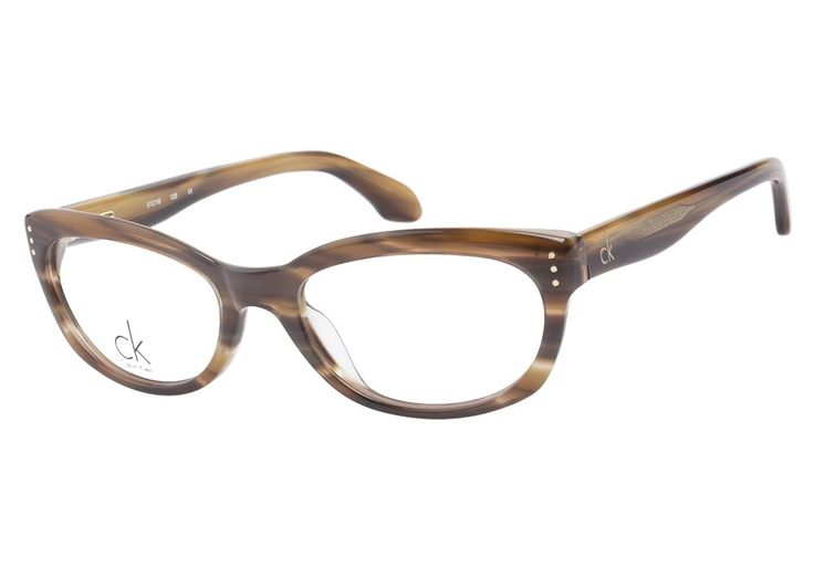 Calvin Klein 5728 274 Brown Horn eyeglasses. Get low prices, superior customer service, fast shipping and high quality, authentic products. from @ClearlyContacts