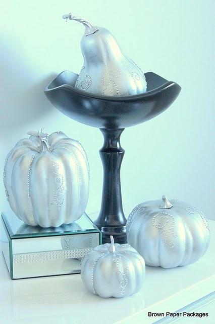 easy bling pumpkins