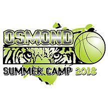 High School Basketball Summer Camp T-Shirt Design