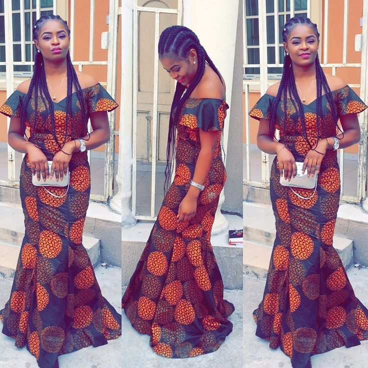 Ankara Latest Gown Styles, this is a collection of vibrant ankara long gown and short gown dresses that will define the true beauty which you possess. You'l