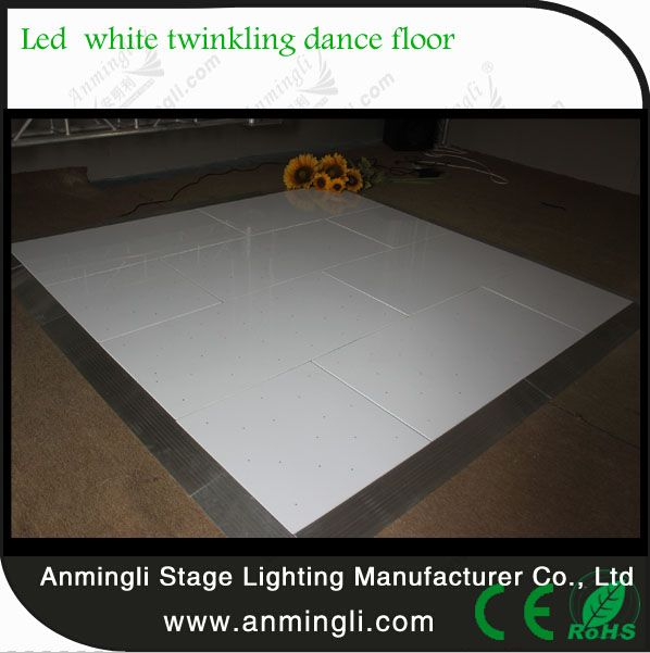 AL-8450 Wholesale Wireless Portable Interactive LED White Starlit Dance Floor white  LED Starlit Dance Floor is currently our second most popular floor for both     hire and purchase. When the room is dark and all you can see is your feet dancing   around twinkling lights, you'll understand why it has become a must have at events, from weddings to corporate events.