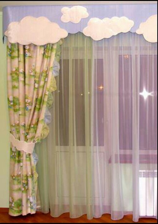 17 best images about cortinas on pinterest cute curtains - Cortinas para bebes ...
