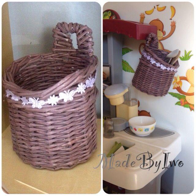 Paper basket  @MadeByIwo