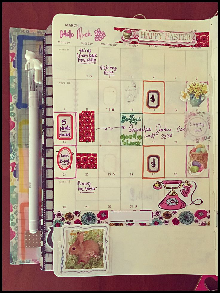Hello March!!! Monthly planning on my bunnydori.   #bunnydori #planning #hellomarch
