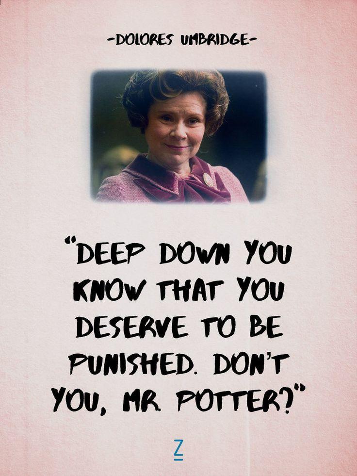 Dolores umbridge quotes