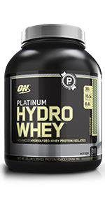 Gold Standard Whey - Optimum Nutrition Platinum Hydrowhey Protein Powder, 100% Hydrolyzed Whey Protein Powder